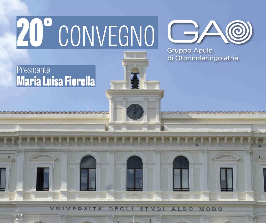 Convegno GAO – Bari 6/7 Dicembre 2017