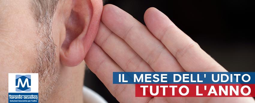 IL MESE DELL'UDITO ANCHE NEL 2019
