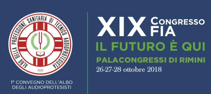 XIX CONGRESSO FIA | 26-28 Ottobre 2018