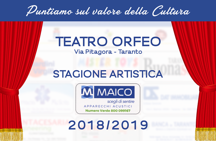 Stagione Teatrale 2018-19