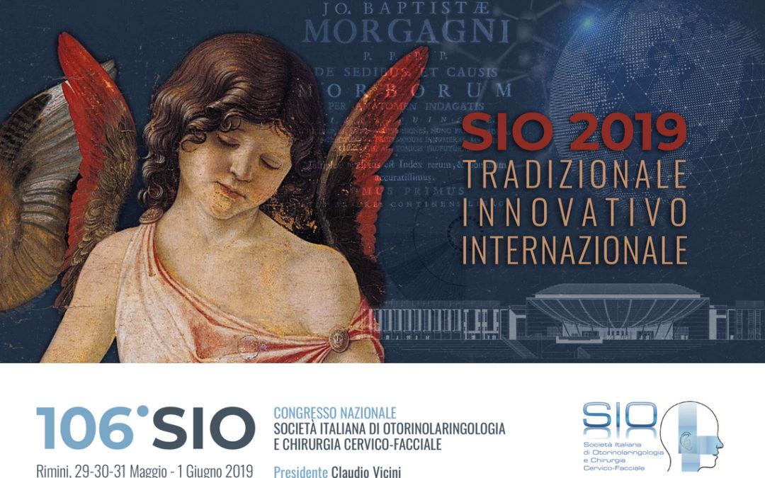 Congresso SIO 2019 | 29 Maggio – 1 Giugno 2019
