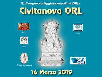 5° Congresso Agg. ORL | 16 marzo 2019