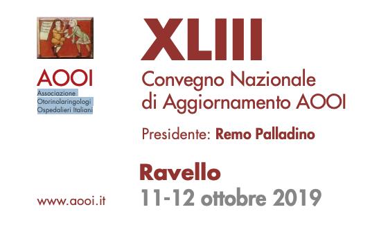 Convegno Nazionale AOOI | 11 – 12 Ottobre 2019
